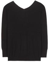 Etoile Isabel Marant Isabel Marant, Étoile Kinsey V-neck Cotton And Wool Sweater