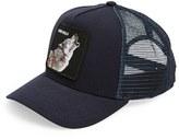 Goorin Bros. Men's Brothers Animal Farm Wolf Trucker Hat - Blue
