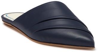 Tibi Slate Pointed Toe Flat Mule