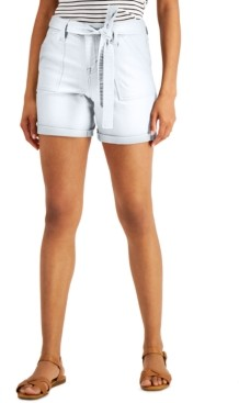 Style&Co. Style & Co Petite Utility Shorts, Created for Macy's