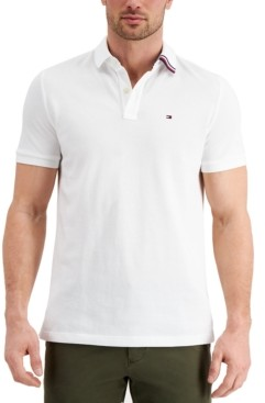 Tommy Hilfiger Men's Oliver Custom-Fit Polo Shirt