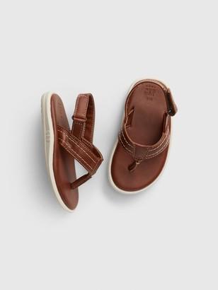 Gap Toddler Molded Leather Flip Flop