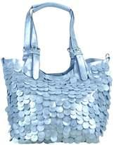 Frank Lyman Silver Paillettes Bag