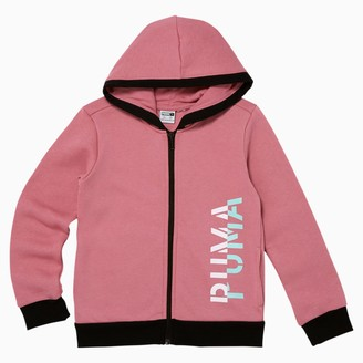 Puma Be Bold Little Kids' Fleece Full Zip Hoodie
