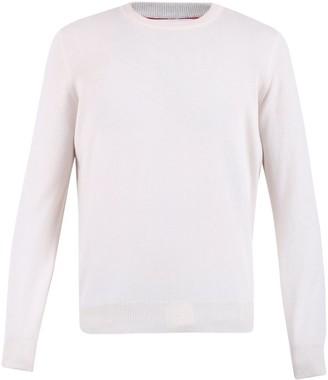Brunello Cucinelli White Sweater