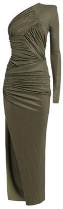 Alexandre Vauthier One-Shoulder Embellished Gown