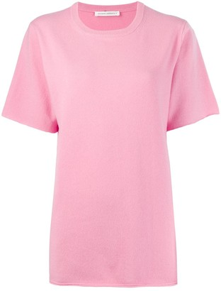Extreme Cashmere cashmere blend knitted T-shirt
