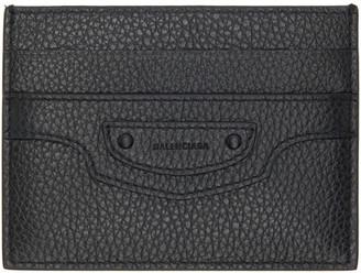 Balenciaga Black Neo Classic Card Holder