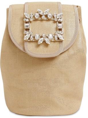 Roger Vivier Broche Mini Lame Backpack