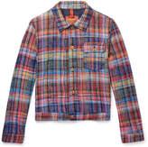 Missoni - Checked Cotton Trucker Jacket