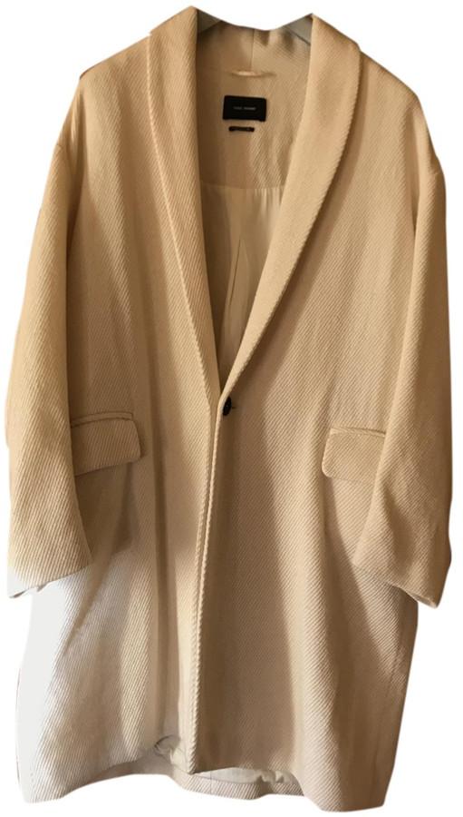 Isabel Marant White Wool Coats