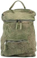 Giorgio Brato zipped backpack - men - Lamb Skin - One Size