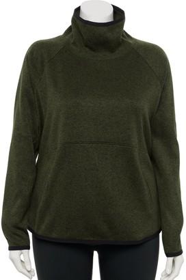 Tek Gear Plus Size Sweater Fleece Pullover