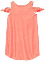 Crazy 8 Neon Cold Shoulder Dress