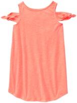 Crazy 8 Neon Cold Shoulder Dress