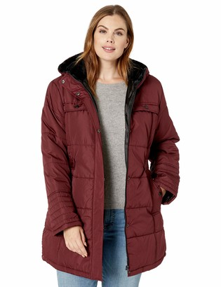 Big Chill Women's Puffer Coat with Hood