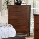 Nathaly 5 Drawer Chest Red Barrel Studio