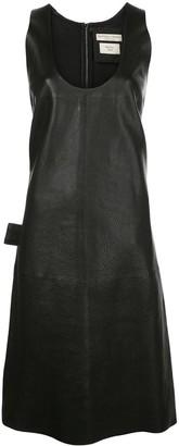 Bottega Veneta Round Neck Shift Dress