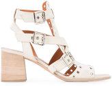 Derek Lam eyelet embellished sandals - women - Suede - 36