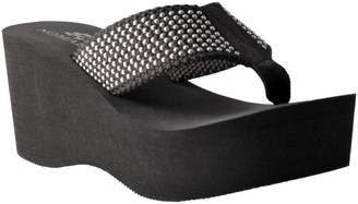 NOMAD Slip-On Studded Thong Sandals - Tiki