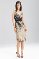 Josie Natori Pebble Cloque Dress