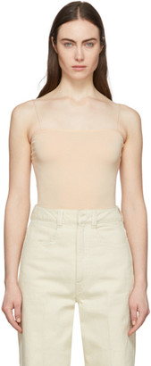 Lemaire Pink Second Skin Tank Top