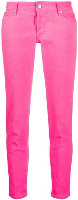 DSQUARED2 Skinny Cropped Jeans