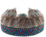 Raina ROCK 'N ROSE Feather Headdress