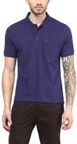 American Crew Premium Pique Solid Polo T-Shirt With Pocket- L (AC195-L)