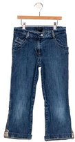 Burberry Girls' Mid-Rise Flared Jeans