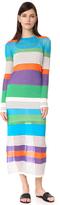 Diane von Furstenberg Knit Colorblock Dress