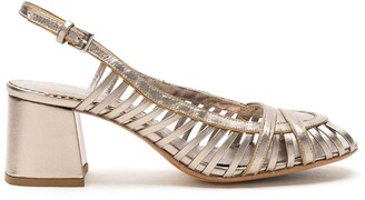 Sarah Chofakian leather Jezz sandals
