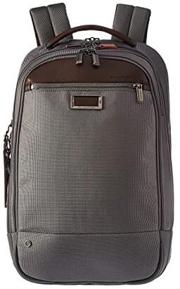 Briggs & Riley @work Medium Backpack (Grey) Backpack Bags