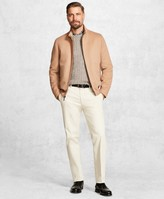 Brooks Brothers Golden Fleece Wool and Camel Hair Bomber