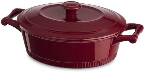 KitchenAid Cast Iron Casserole Dutch Oven, 4-Quart