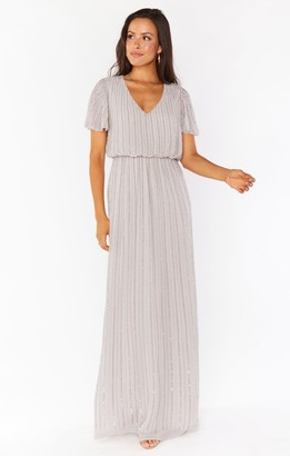 Show Me Your Mumu Michelle Flutter Maxi Dress