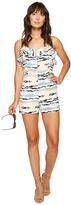 Kensie Horizon Lines Romper KS6U7S05 Women's Jumpsuit & Rompers One Piece