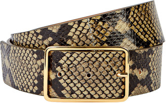 B-Low the Belt Milla Python Printed Leather Belt