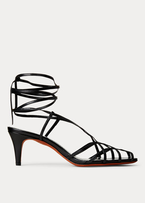 Ralph Lauren Deana Leather Sandal
