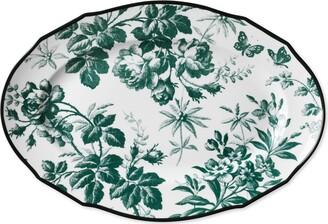 Gucci Herbarium oval tray