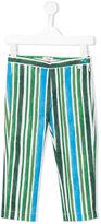 Il Gufo striped print trousers - kids - Cotton/Spandex/Elastane - 3 yrs