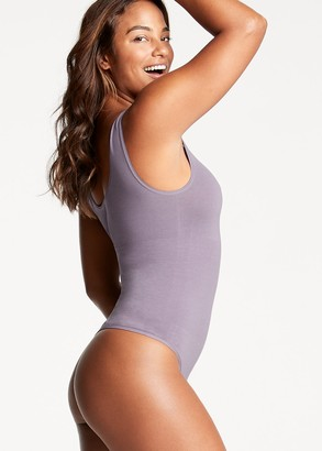 Yummie Ruby Cotton Shaping Thong Back Bodysuit