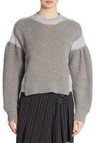 McQ Chunky Knit Textured Sweater