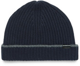 Burberry - Contrast-tipped Ribbed Cashmere Beanie