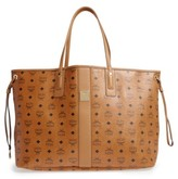 MCM 'Large Liz' Reversible Shopper - Brown