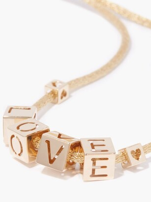 LAUREN RUBINSKI Love 14kt Gold Necklace - Yellow Gold