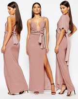 Missguided Slinky Multiway Maxi Dress