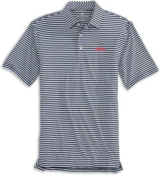 Southern Tide Ole Miss Striped Polo Shirt