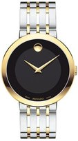 Movado 39mm Esperanza Watch, Silver/Gold