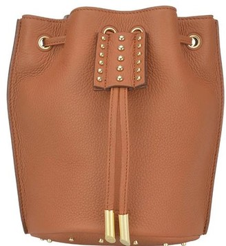 Tod's Studded Drawstring Bucket Bag